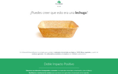 Tecnologías para transformar residuos vegetales en materiales industriales biodegradables