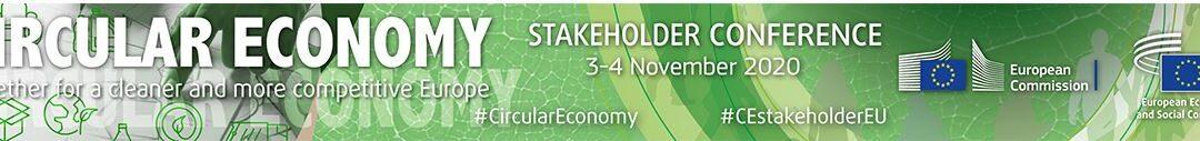 Conferencia anual de stakeholders europeos de Economía Circular