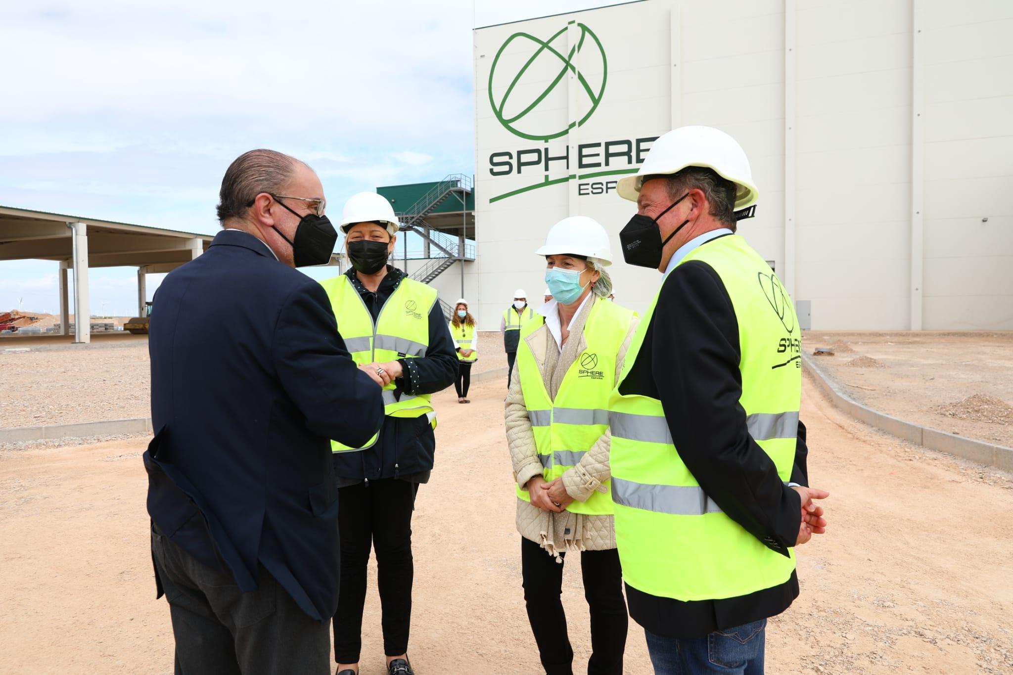 Visita a la empresa Sphere Spain