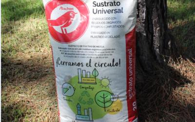 La colaboración entre ALCAMPO Y SAICA NATUR impulsa el primer sustrato universal fabricado con residuos orgánicos del propio ALCAMPO
