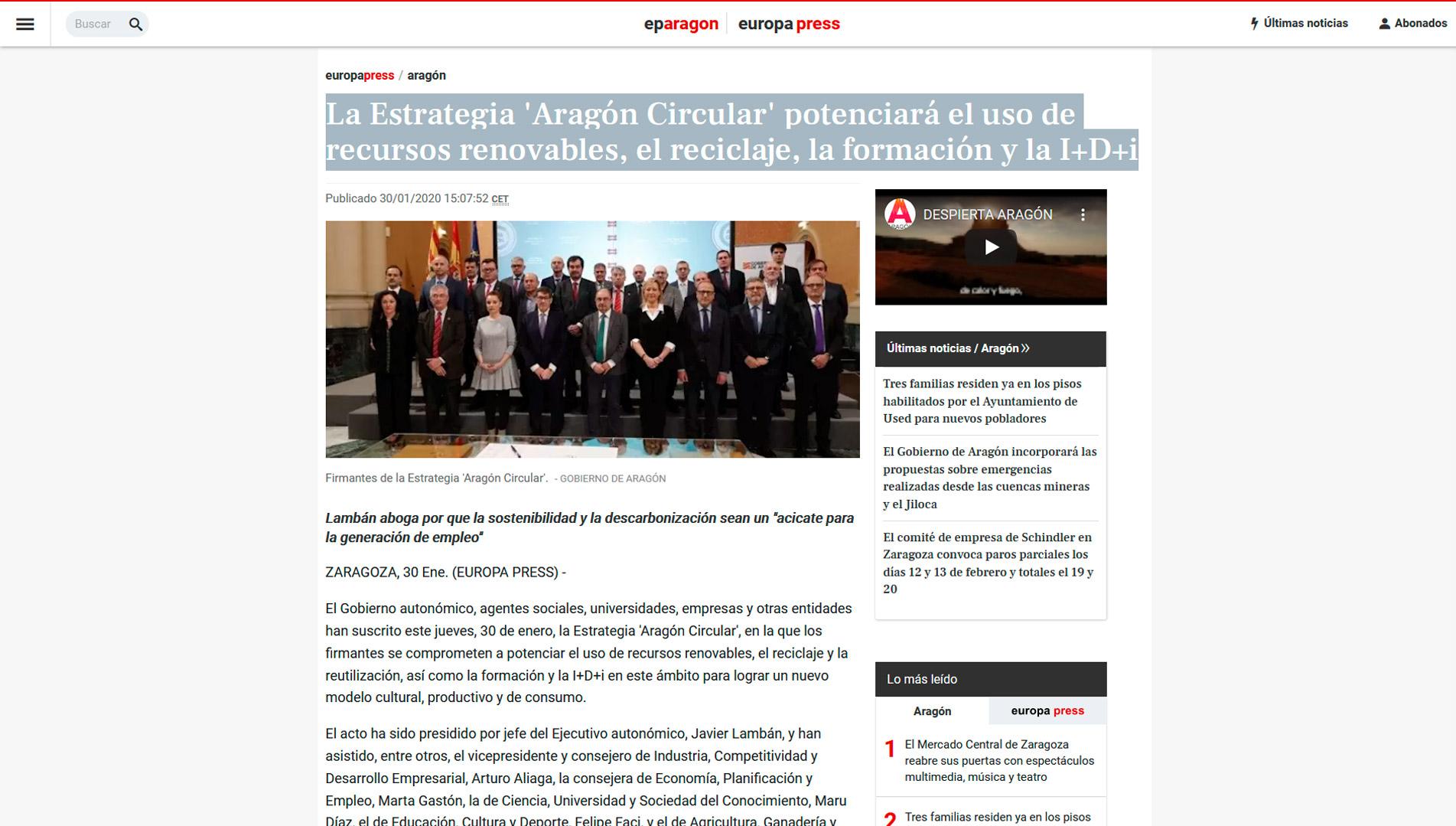 aragon-circular-europa-press